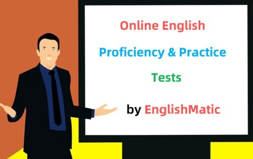 Free online English tests and exercises for beginner, intermediate and advanced learners.